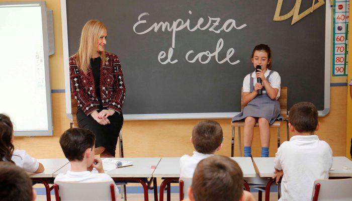 Foto de Una prueba de inglés a los alumnos evaluará el programa de bilingüismo en Madrid