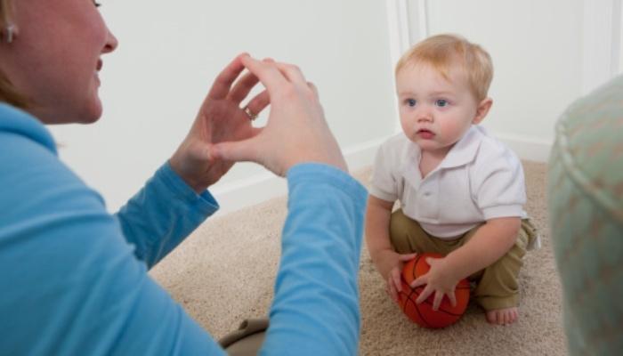 Foto de Los bebés construyen el vocabulario en torno a sus primeras palabras