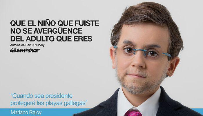 Foto de Versiones infantiles de los candidatos a La Moncloa para no olvidar el medio ambiente