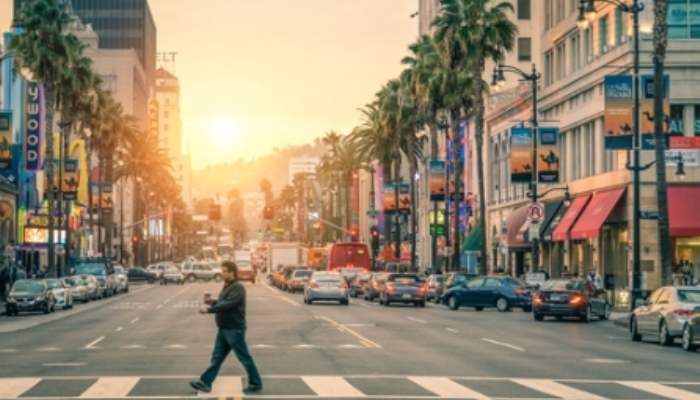 Foto de Los Ángeles, destino de becas para ser actor