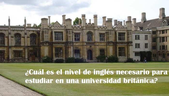 Foto de Objetivo: estudiar en una universidad de habla inglesa
