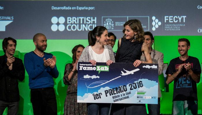 Foto de Hormigas y humor gallego, así ganó Alba Aguión el certamen de monólogos científicos Famelab