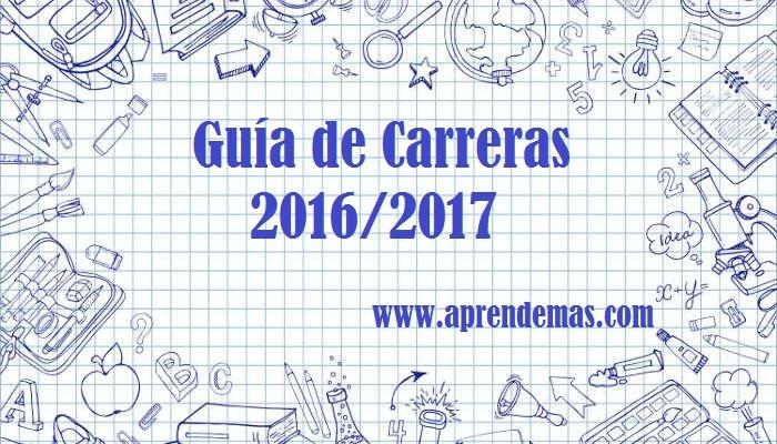 Foto de Guía de Carreras 2016/2017