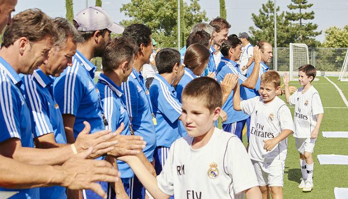 Foto de La Fundación Real Madrid abre plazo para inscribirse en su campus de verano