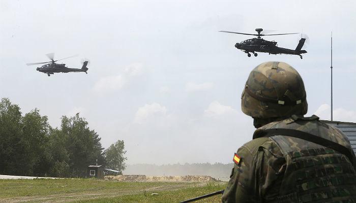 Foto de Paso al frente de los aspirantes a Tropa y Marinería del Ejército