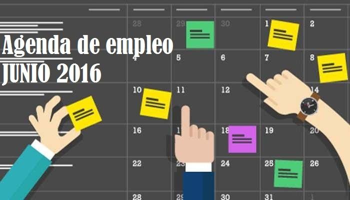 Foto de Agenda de Junio: ofertas de empleo dentro y fuera de España