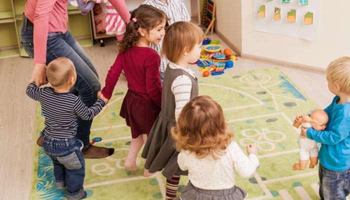 Foto de Bailar juntos ayuda a los niños a crear vínculos sociales