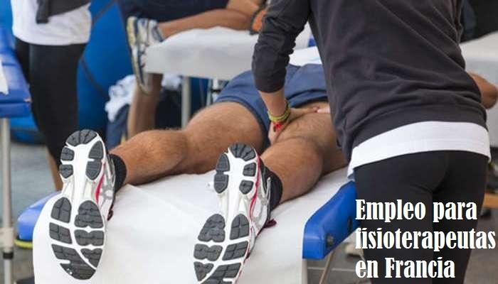 Foto de Ofertas de empleo para fisioterapeutas rumbo a Francia con sueldos de hasta 3.500 euros