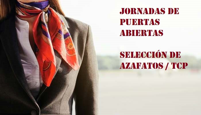 Foto de Próximas citas con el empleo en España para selección de azafatos de vuelo
