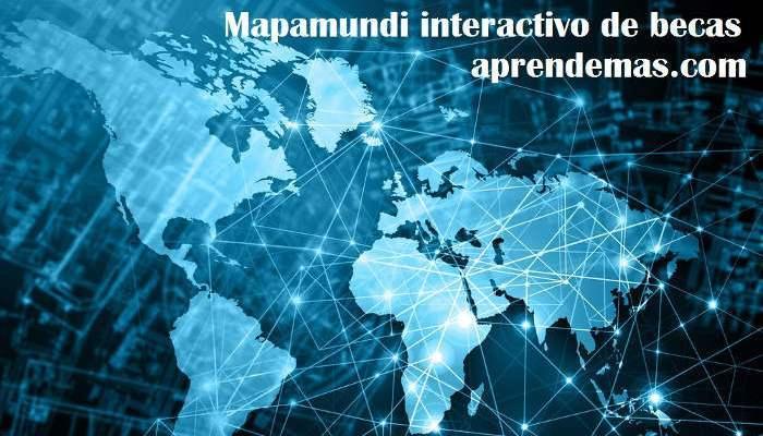 Foto de Un mapamundi interactivo de becas para 2017