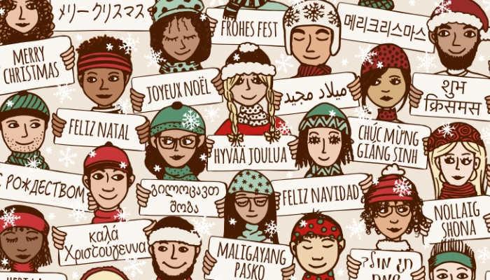 Foto de Frases y expresiones para vivir una Navidad multilingüe