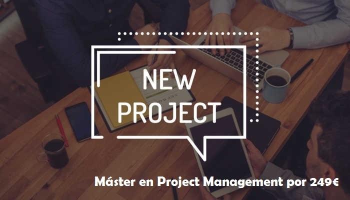 Foto de Project Manager, una profesión de futuro con máster por 249 euros