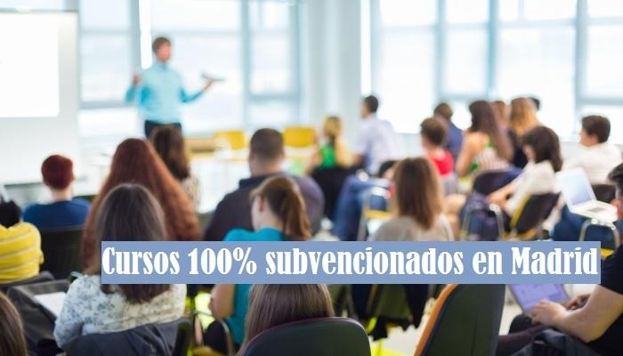 Foto de ¿Buscas cursos 100% subvencionados en Madrid? Aquí una selección de formación para el empleo