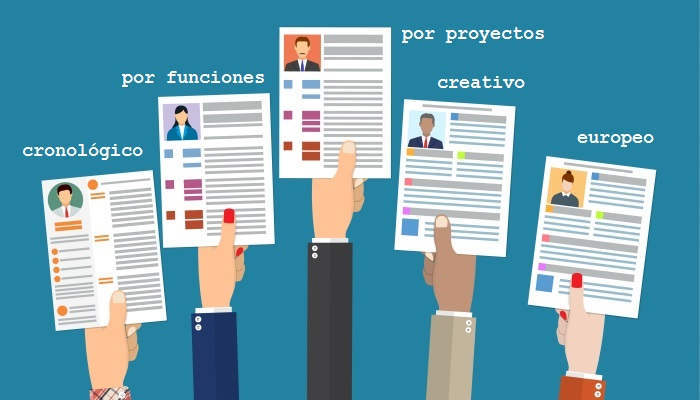 Foto de Los cinco tipos de CV imprescindibles para encontrar empleo