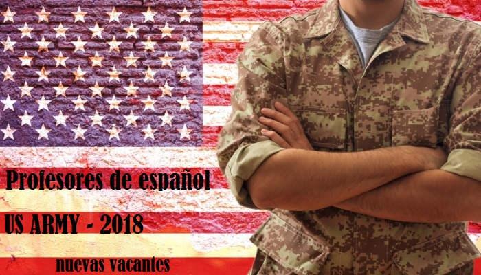 Foto de Nuevas vacantes para profesores de español en el Ejército de EEUU con sueldos de hasta 122.000 dólar