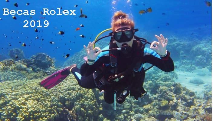 Foto de Becas Rolex de hasta 25.000 euros para sumergirse de lleno en el mundo submarino