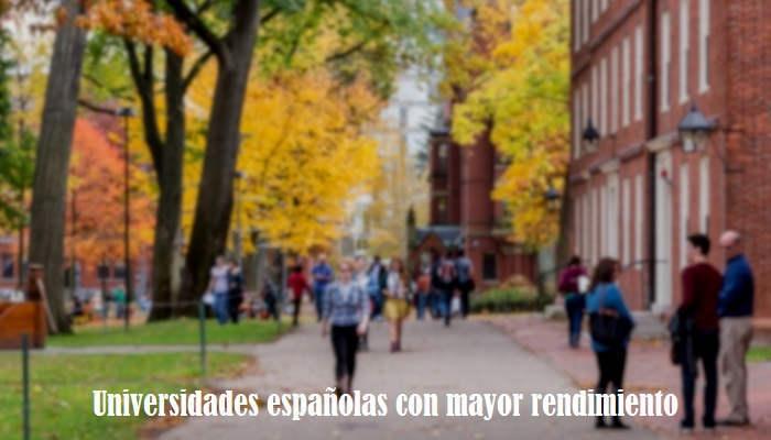 Foto de Estas son las universidades españolas con mejor rendimiento