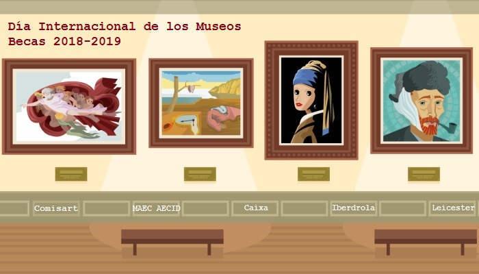 Foto de Día Internacional de los Museos: becas para adentrarse en galerías de arte