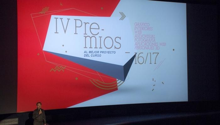 Foto de Todo listo para la entrega de los Premios EAG de Escuela Arte Granada