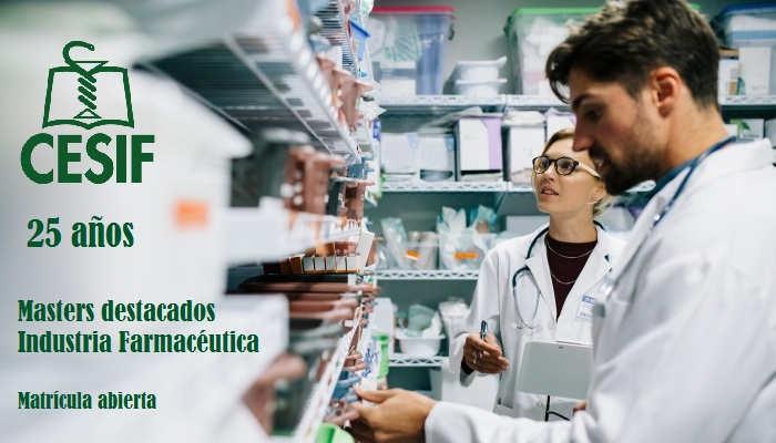 Foto de Másteres para la Industria Farmacéutica con una salud de hierro