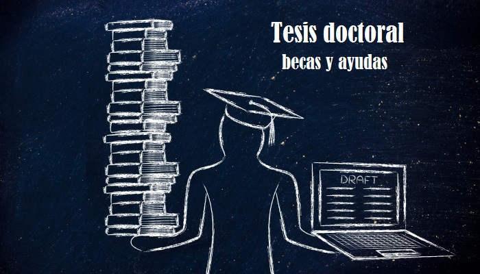 Foto de Becas para hacer la tesis doctoral de 2.500 euros y otras ayudas de financiación