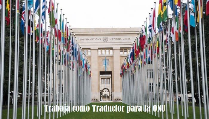 Foto de Se buscan traductores para trabajar en la ONU con dos años de experiencia
