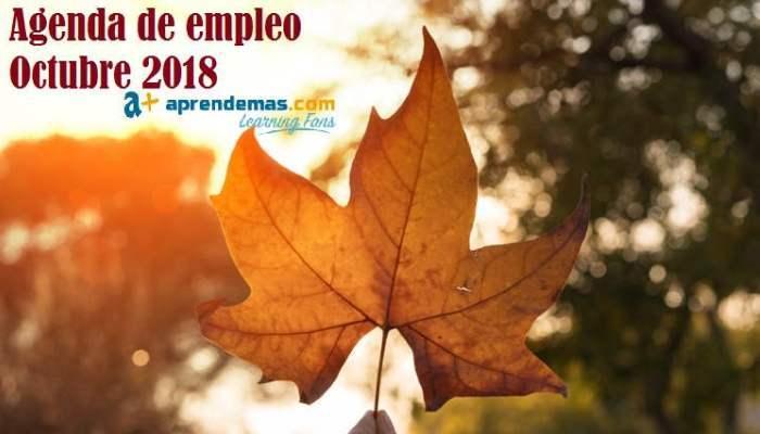 Foto de Agenda de Empleo en Octubre: ferias y procesos de selección que llegan este otoño
