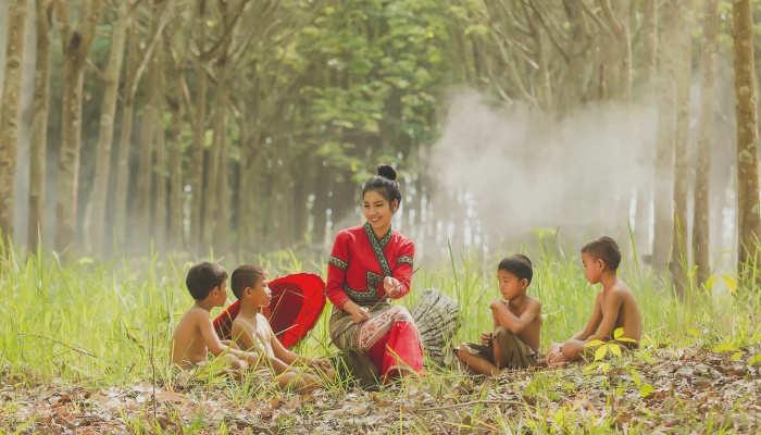 Foto de Voluntariado en India ayudando al Medio Ambiente