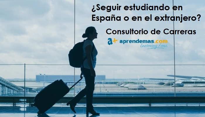 Foto de ¿Seguir estudiando en España o en el extranjero?
