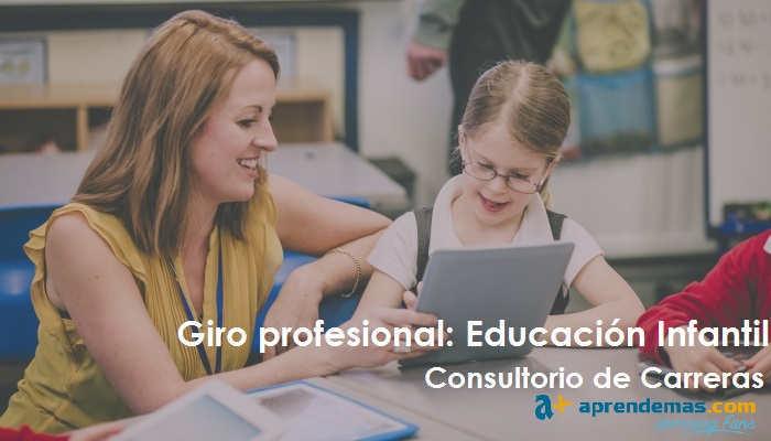 Foto de Giro profesional: ¿Pedagogía o Educación Infantil?