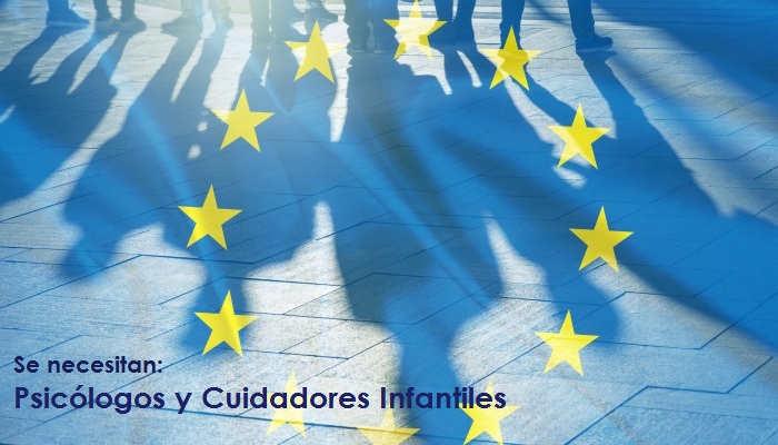 Foto de Trabaja en la UE: puestos para Psicólogos y Cuidadores Infantiles