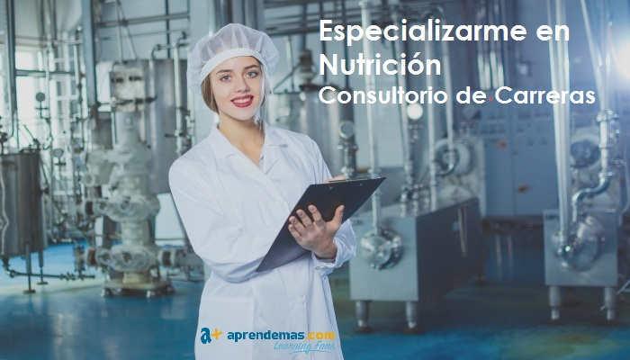 Foto de Especializarme en Nutrición: ¿presencial o a distancia?