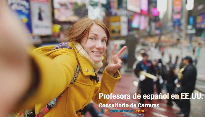 Foto de Trabajar en EE.UU. como profesora