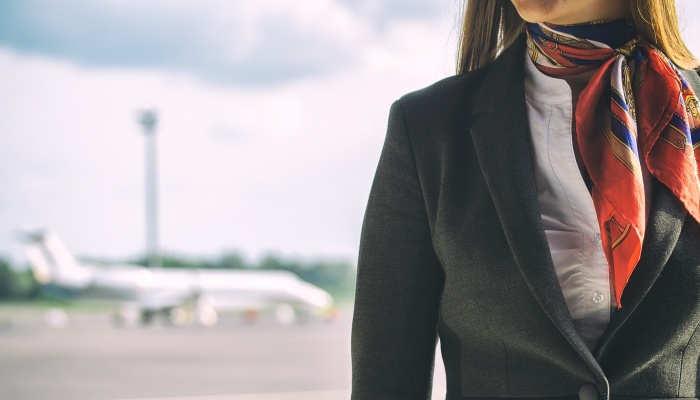 Foto de Azafata de vuelo: todo lo que necesitas para dedicarte a esta profesión