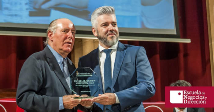 Foto de Escuela de Negocios y Dirección, premio a la mejor Escuela de Negocios online