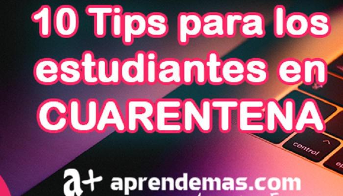 Foto de Decálogo de consejos que te ayudarán en la cuarentena si eres estudiante