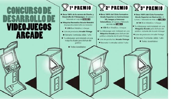 Foto de El I Concurso Nacional de Videojuegos Arcade dará como premio becas completas de estudio