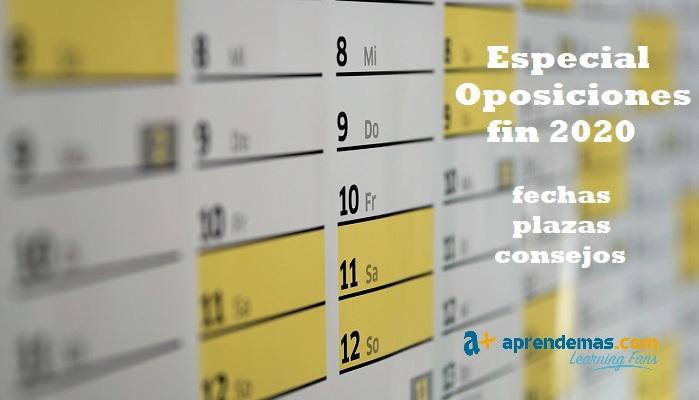 Foto de Especial Oposiciones: plazas de empleo público para terminar 2020