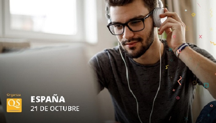 Foto de 21 de octubre: Feria virtual gratuita de QS con becas para tu máster