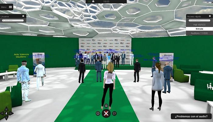 Foto de Tecnología 3D e Hiperrealidad en la graduación de alumnos de SEAS