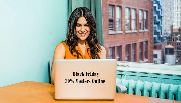 Foto de Black Friday: masters online con descuento para especializarse