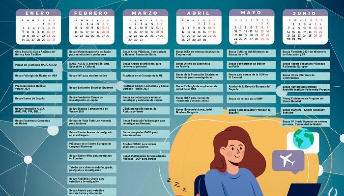 Foto de Calendario de Becas 2021: lo mejor está por llegar
