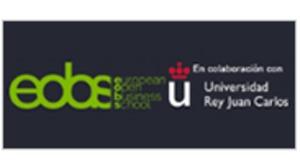 Logo de EOBS en colaboración con la Universidad Rey Juan Carlos