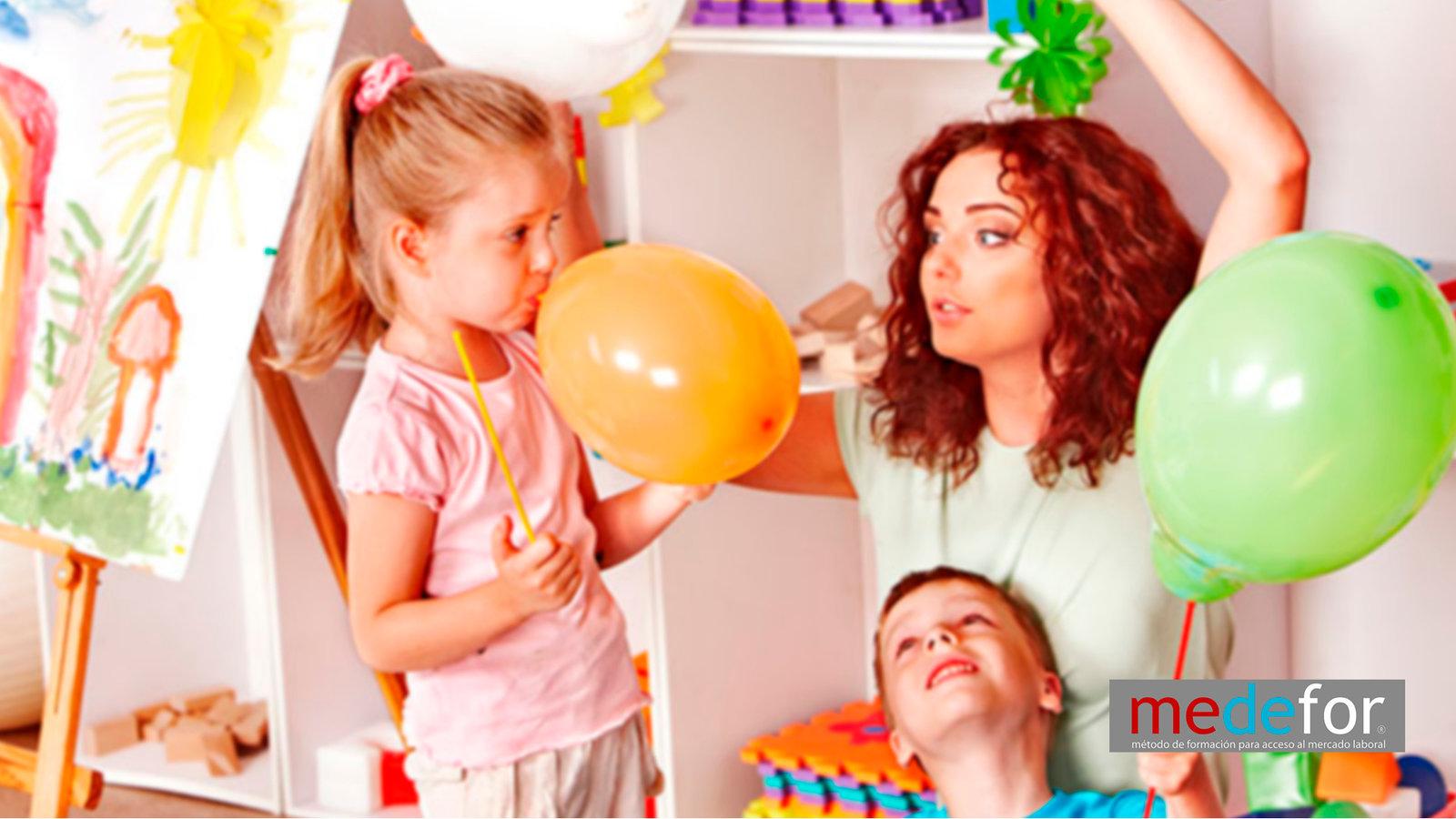 Curso de Auxiliar de guardería y jardín de infancia