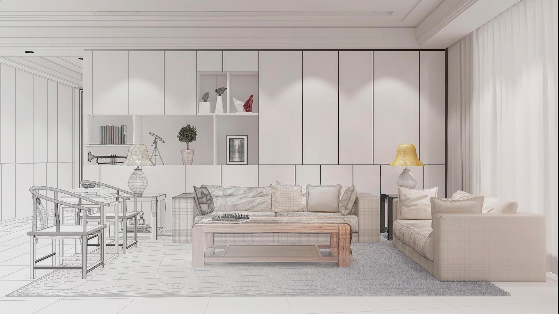 Curso superior universitario en decoración, interiorismo y gestión de proyectos (ACAD + 3D)