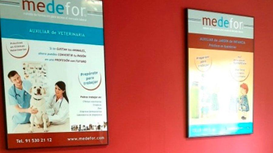 MEDEFOR  combina los sistemas tradicionales con las más modernas técnicas de estudio y aprendizaje.